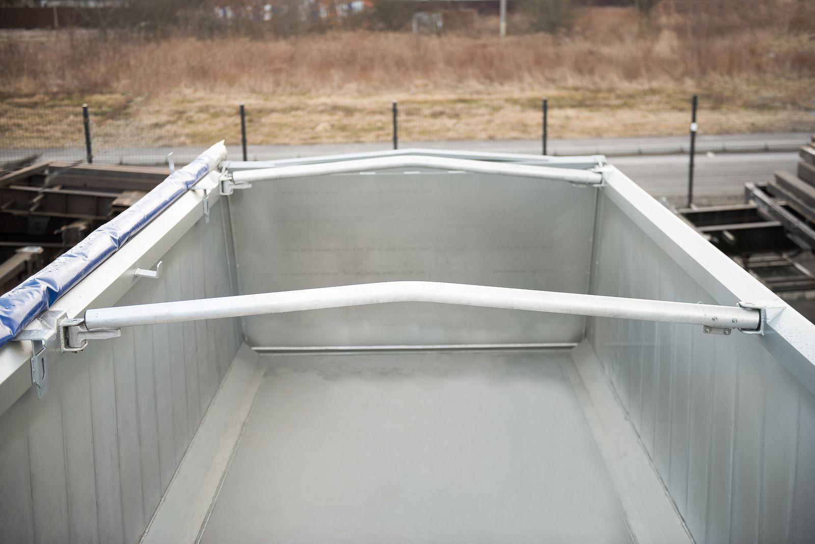 Самосвальный алюминиевый полуприцеп 27 m3